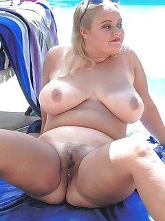 BBW Blondes Pics